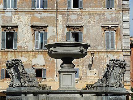 Une des plus anciennes fontaines romaines