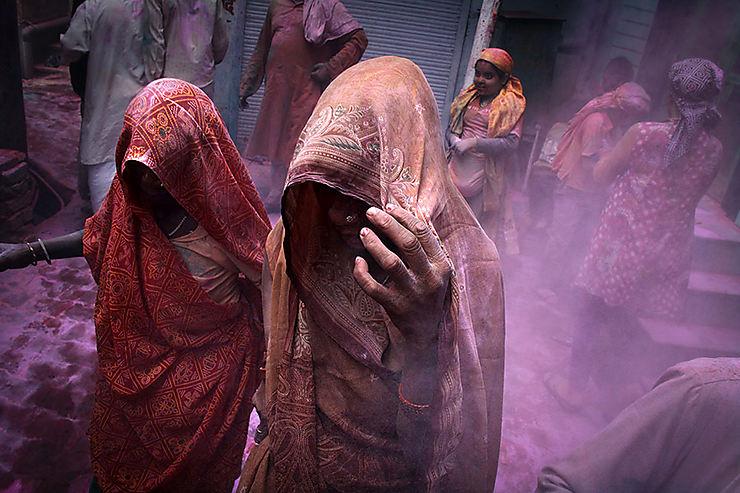 Dans les rues de Vrindavan