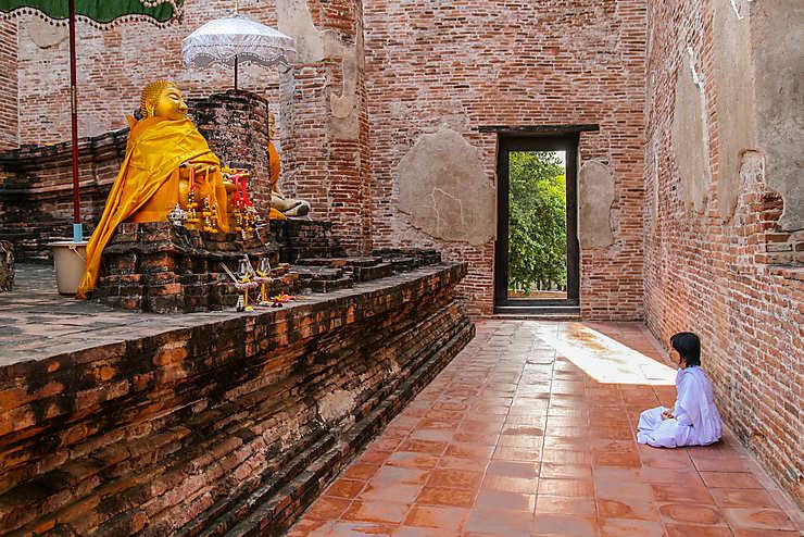 Méditation au Wat Maheyong