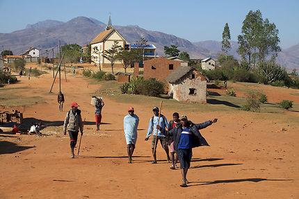 Marché aux zébus à Ambalavao, Madagascar