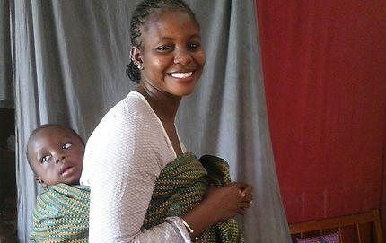 Femme à l'enfant, Île de Gorée
