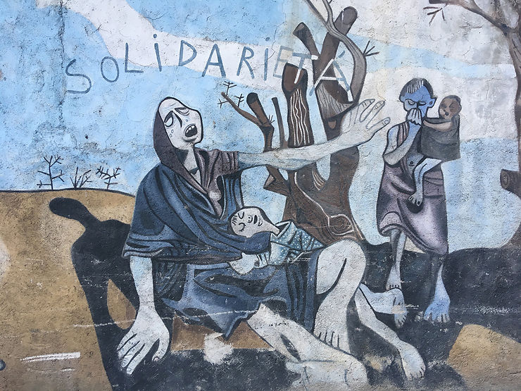 Quand Pinuccio Sciola faisait le mur à San Sperate