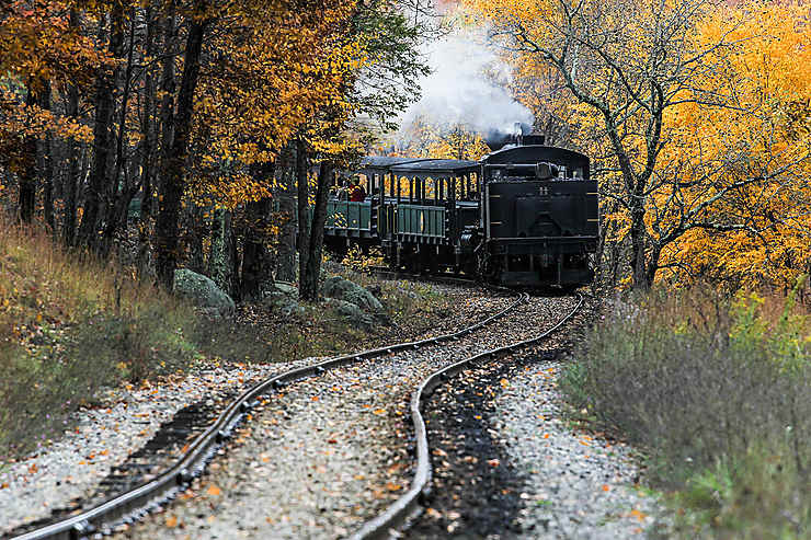 Cass Scenic Railway, Virginie-Occidentale, États-Unis