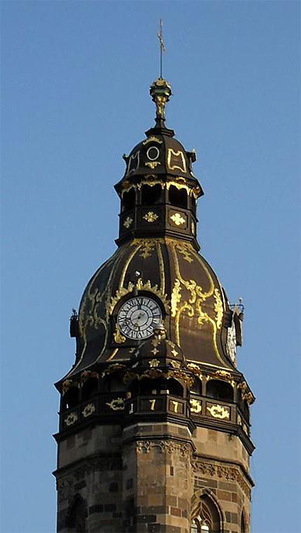 Clocher baroque