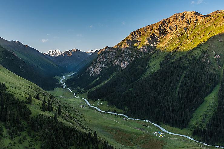 Vallée d'Altyn Arashan