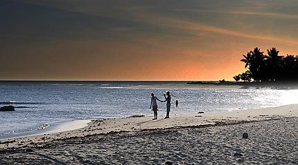 Levé du soleil à Mahambo plage