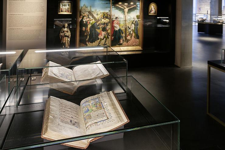 Bruxelles - KBR Museum : la librairie des Ducs de Bourgogne ouverte au public