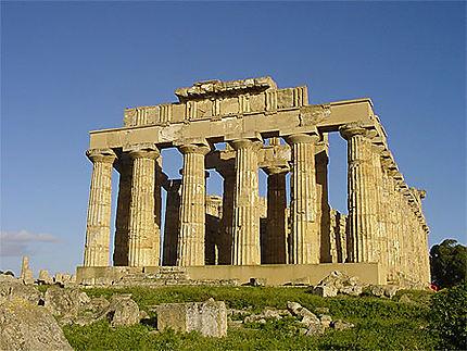 Le temple E, consacré à Héra