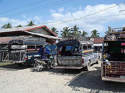 La gare routière de Vang Vieng