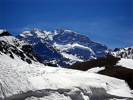 L'Aconcagua (6.962 m), le toit des Amériques