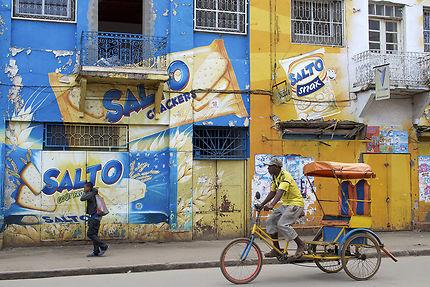 Cyclo-pousse d'Antsirabe, Madagascar