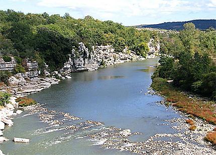 Balazuc l'Ardèche