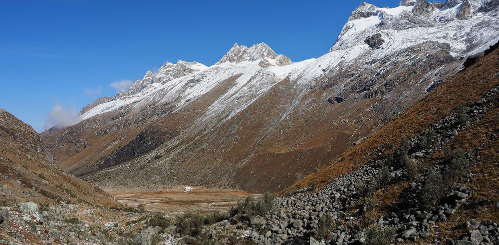 3 mois dans la Cordillère des Andes. La Cordillère Blanche, 3ème partie