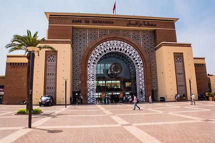 La gare de Marrakech