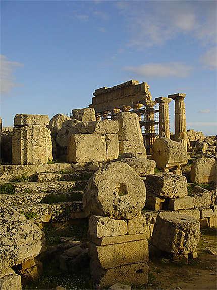 Les temples de Sélinonte