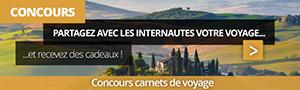 Concours Carnets de voyage