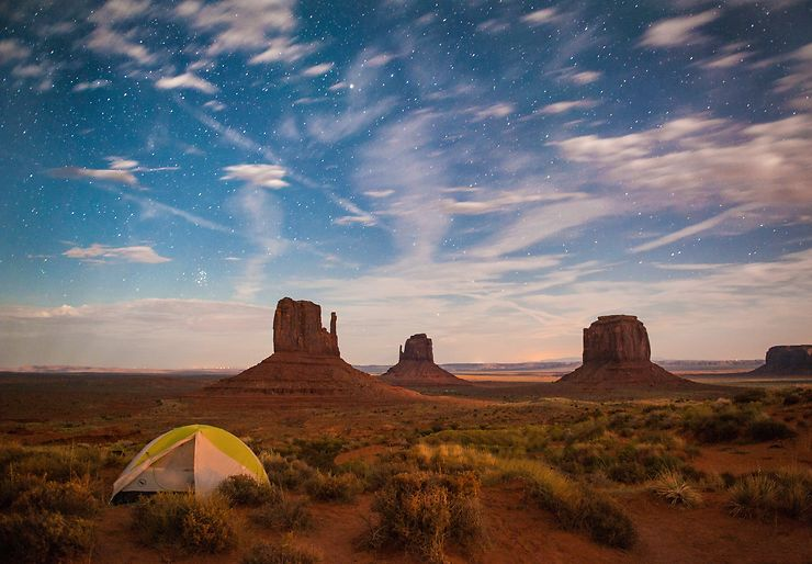 Monument Valley, The view campground