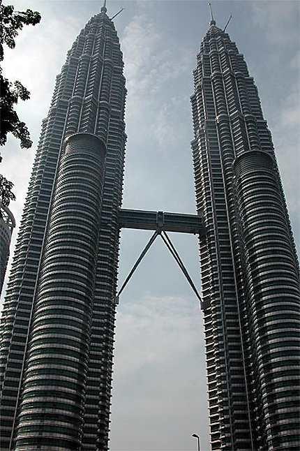 Les célèbres tours Petronas