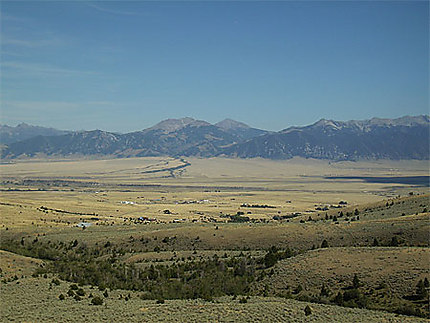 Paysage du Montana