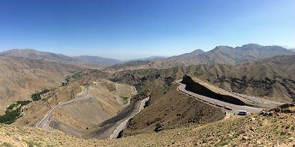 Route du Haut Atlas, Tiznit, Maroc