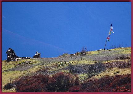 9ème jour du trek du Jomolari