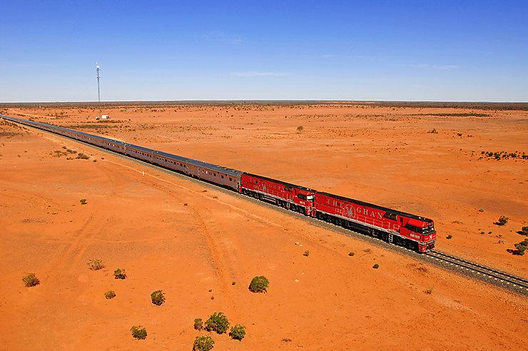 Ghan, Australie