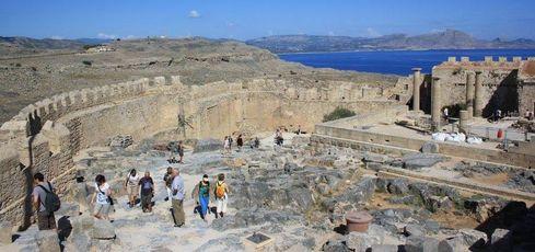 Retour d'un circuit sac à dos 8 jours Athènes, Naxos, Santorin