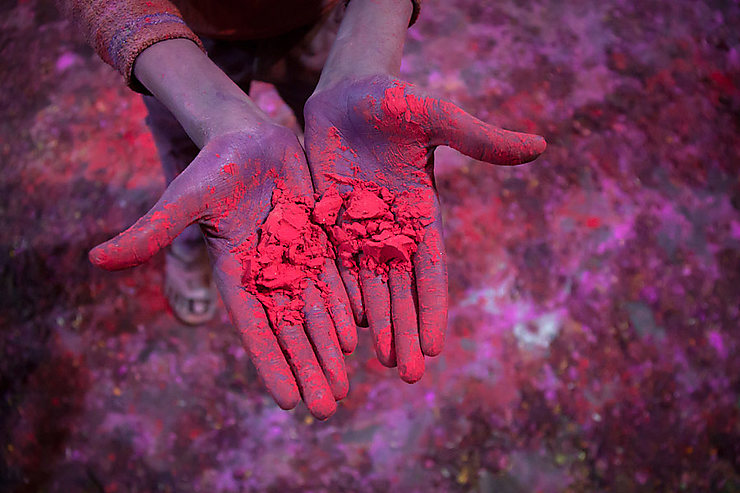 Hello friend, have some Holi colors !