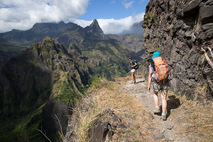 La canalisation de la Réunion, Cirque de Mafate