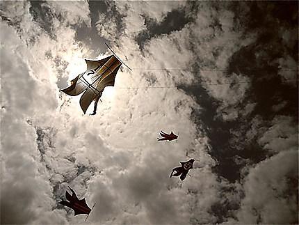 Concours cerfs-volants Sanur Juillet 2012
