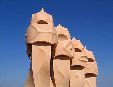 Cheminées de Gaudi
