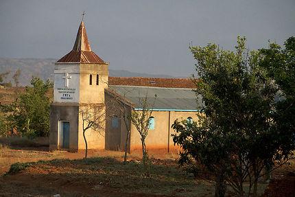 Chapelle autour d'Antsirabe, Madagascar