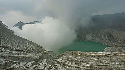 Cratère kawah ijen