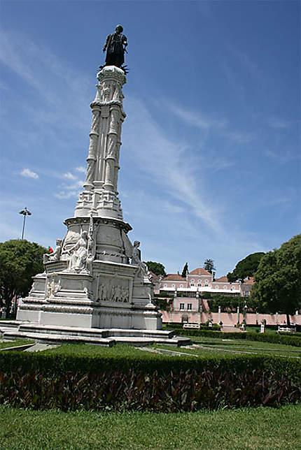 Le palais présideniel à Lisbonne