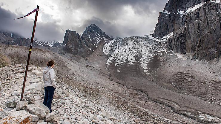 Glacier Ak-Sai
