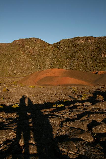 Vers le piton de la fournaise la Réunion