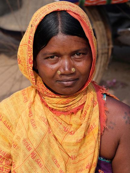 Femme Bhatra dans le district de Bastar