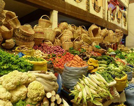 Capharnaüm de légumes
