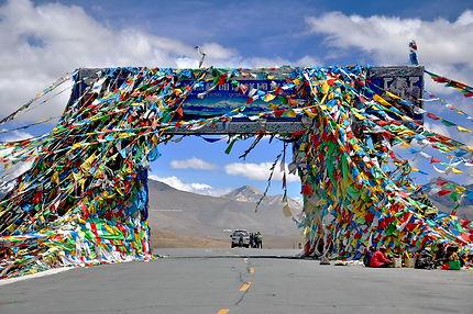 Arc de triomphe tibétain