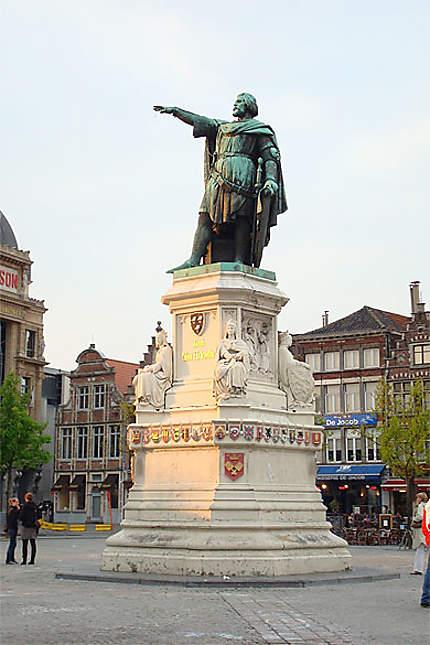 Statue de Jacob Van Artevelde