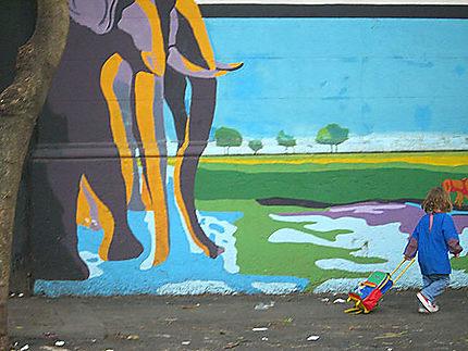 Muralisme : l'enfant et la ville