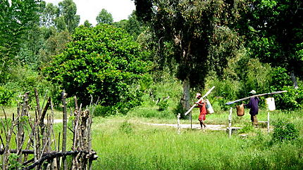 Pêcheurs à Mahambo