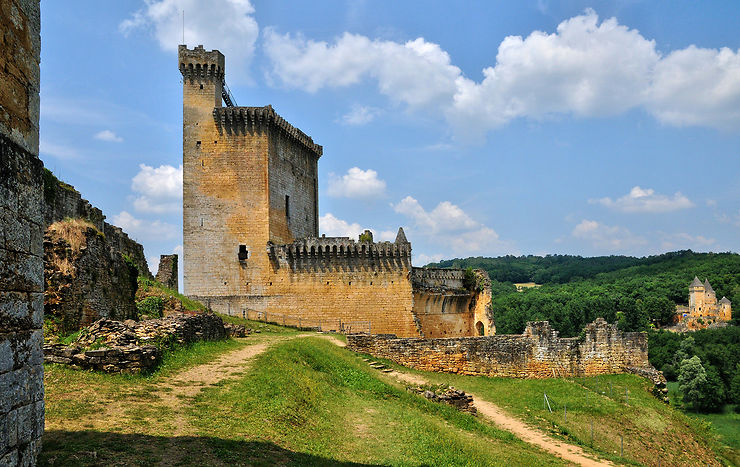 Commarque, un château romantique en Périgord