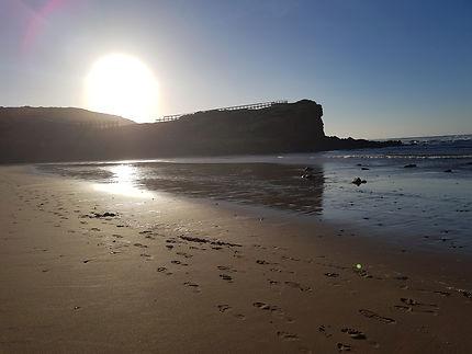 Coucher de soleil en Alentejo