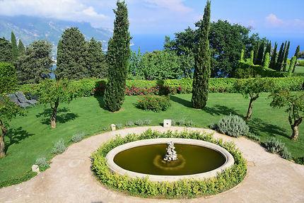 Très beau jardin de la villa Cimbrone