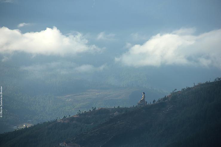 Bhoutan - Le Grand Bouddha bhoutanais enfin achevé !