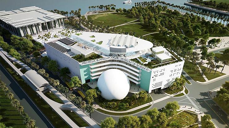 Floride - Un musée de la Science à Miami