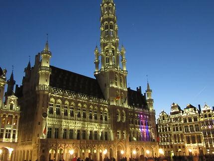 Bruxelles de nuit