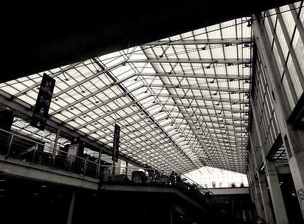 Impressionnante verrière Gare du Nord