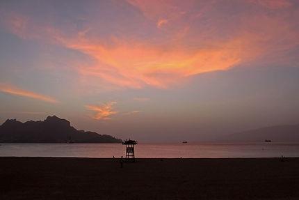 Praia da Laginha, Monte Cara et Santo Antão ouest